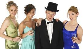 Grupo formal Foto de Stock Royalty Free