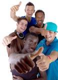 Grupo fresco joven de adolescencias Fotografía de archivo libre de regalías