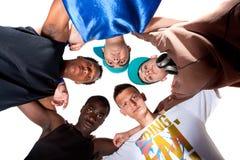 Grupo fresco novo de adolescentes do quadril. Fotografia de Stock