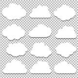 Grupo grande das nuvens Fotos de Stock