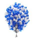 Grupo grande de balões do partido Imagens de Stock Royalty Free