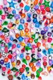 Grupo grande de juguetes de la arcilla Fotos de archivo