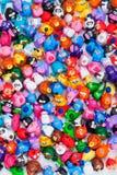 Grupo grande de juguetes de la arcilla Fotografía de archivo libre de regalías