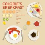 Grupo infographic do café Ilustração do vetor Imagem de Stock