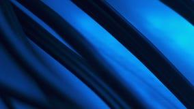 Grupo inteiro de cabos nano no fundo azul, fornecimento da nova tecnologia filme