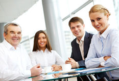 Grupo junto Imagem de Stock