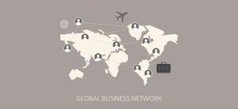 Grupo liso do ícone do conceito da rede social moderna e clássica Foto de Stock Royalty Free
