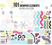 Grupo mega de elementos do projeto Imagem de Stock Royalty Free