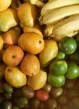 Grupo multicolor de las frutas Fotografía de archivo libre de regalías