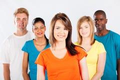 Grupo multicultural dos povos foto de stock royalty free