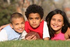 Grupo Multiracial de miúdos Fotografia de Stock Royalty Free