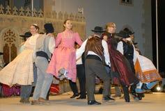 Grupo musical de la danza Imagen de archivo libre de regalías