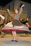 Grupo musical de la danza de Bulgaria Fotos de archivo