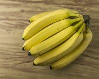 Grupo natural fresco da banana Imagem de Stock
