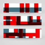 Grupo da bandeira do vetor para seu projeto Imagem de Stock