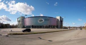 Grupo que espera 2011 de la arena de Eurobasket Cido a Imágenes de archivo libres de regalías