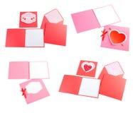 Grupo romântico do projeto Para para ser usado para cartão, convites, cartão Fotografia de Stock