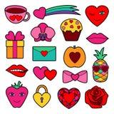Grupo romântico do remendo Imagens de Stock Royalty Free