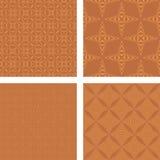 Grupo sem emenda de cobre do teste padrão Ilustração Royalty Free