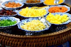 Grupo tailandês da sobremesa Imagens de Stock Royalty Free
