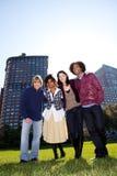 Grupo urbano del amigo Imágenes de archivo libres de regalías