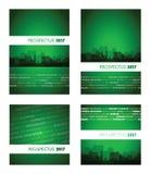 Grupo verde del prospecto 2017 Foto de archivo libre de regalías