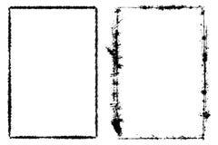 Grupo vertical do quadro ilustração royalty free