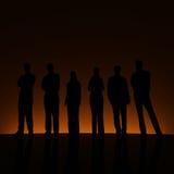 Grupo y contraluz anaranjado. libre illustration