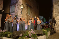 Grupos das mulheres (klapa) Neverin Imagem de Stock Royalty Free