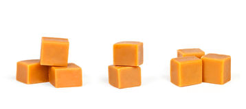 Grupos de caramelo del caramelo Fotos de archivo libres de regalías