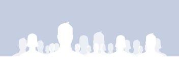 Grupos sociais da rede Fotos de Stock Royalty Free