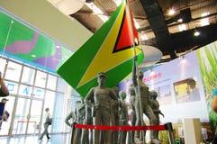 grupowa Expo2010 rzeźba Guyana Shanghai Obraz Stock