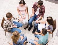Grupowa terapia Obraz Stock