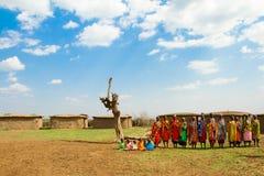 grupowe kenijskie kobiety Zdjęcie Stock