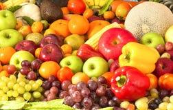 Grupowe owoc dla zdrowego fotografia stock