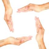 grupowe ręki Obraz Stock