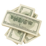 grupowego pieniądze odgórny widok zdjęcia royalty free