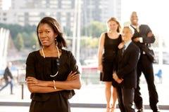 grupowi biznesów ludzie cztery fotografia stock