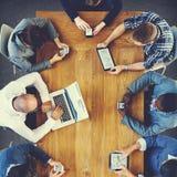 Grupowi ludzie biznesu Korporacyjnego spotkania pojęcia zdjęcia royalty free