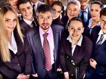 Grupowi ludzie biznesu w biurze. Fotografia Stock