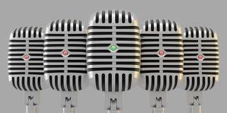 grupowi mikrofony ilustracji