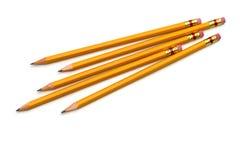 grupowi ołówki fotografia stock