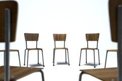 Grupowi terapii krzesła Fotografia Stock