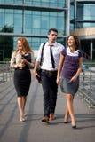 grupowy biurowy spacer Obraz Stock