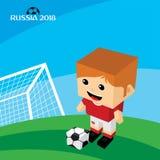 grupowy drużynowy Russia piłki nożnej turniej 2018 Obraz Stock
