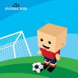 grupowy drużynowy Russia piłki nożnej turniej 2018 Zdjęcia Stock
