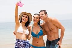 Grupowy przyjaciela selfie fotografia royalty free