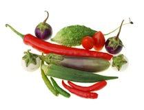 grupowy surowy warzywo Fotografia Royalty Free