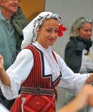 grupowy tana macedonian Zdjęcie Royalty Free