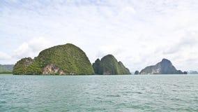 Grupp av öar i det Andaman havet Royaltyfri Bild